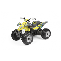 12V PEG PEREGO Polaris Outlaw Elektro Quad Citrus