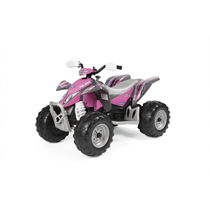 12V PEG PEREGO Polaris Outlaw Elektro Quad pink Power mit 2 Akkus