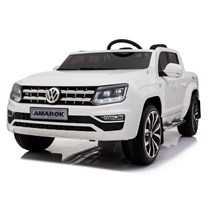 12V VW AMAROK Pick up Kinder Elektro Auto weiß