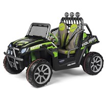 24V PEG PEREGO Polaris Ranger RZR Green Shadow Jeep Zweisitzer